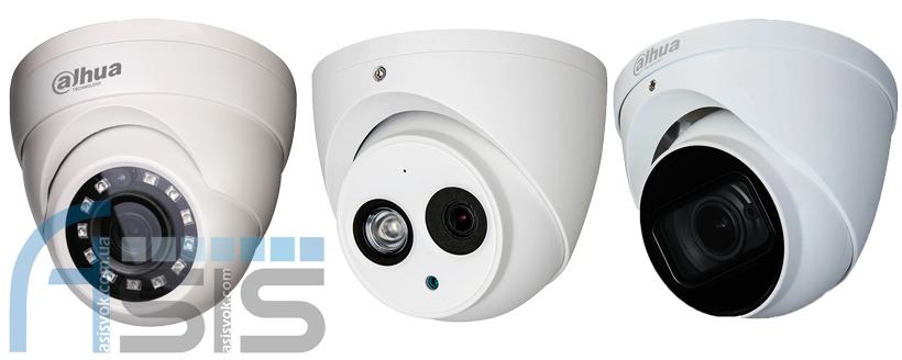 Порівняння камер відеоспостереження 2, 4, 8 MP вдень і вночі.