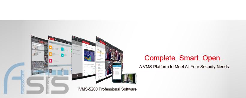Hikvision випускає професійне програмне забезпечення iVMS-5200.