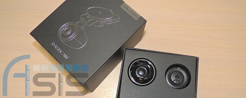 Автомобільний Full HD відеореєстратор Hikvision AE-DN2016-F3