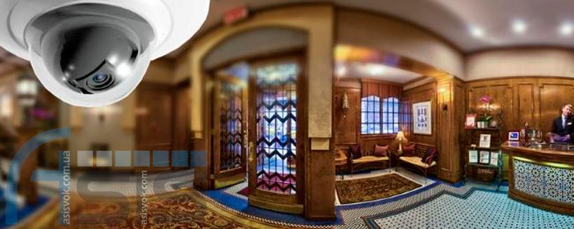 Відеоспостереження в готелях.