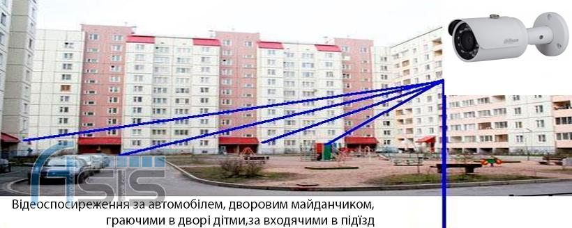 Відеоспостирежиння для багатоквартирних будинків